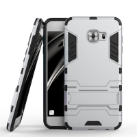 Samsung Galaxy C5 Tough Armor Protective Case (Silver)