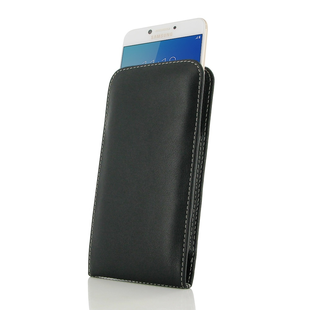 10% OFF + FREE SHIPPING, Buy PDair Handmade Protective Samsung Galaxy C7 Pro Genuine Leather Sleeve Pouch Case Designed for Galaxy C7 Pro You also can go to the customizer to create your own stylish leather case if looking for additional colors, patterns