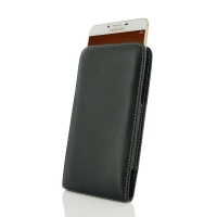 Leather Vertical Pouch Case for Samsung Galaxy C9 Pro