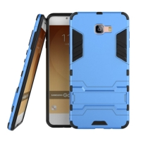 Samsung Galaxy C9 Pro Tough Armor Protective Case (Blue)
