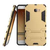 Samsung Galaxy C9 Pro Tough Armor Protective Case (Gold)