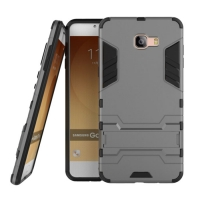 Samsung Galaxy C9 Pro Tough Armor Protective Case (Grey)