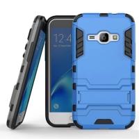 Samsung Galaxy J1 (2016) Tough Armor Protective Case (Blue)