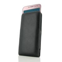 Leather Vertical Pouch Case for Samsung Galaxy J2 Pro (2018)