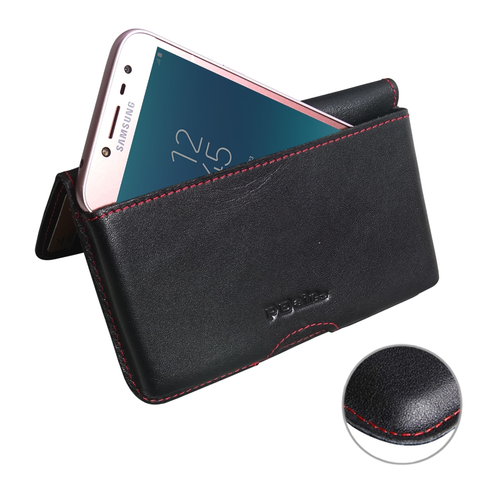 10% OFF + FREE SHIPPING, Buy the BEST PDair Handcrafted Premium Protective Carrying Samsung Galaxy J2 Pro (2018) Leather Wallet Pouch Case (Red Stitch). Exquisitely designed engineered for Samsung Galaxy J2 Pro (2018).