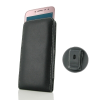 Leather Vertical Pouch Belt Clip Case for Samsung Galaxy J2 Pro (2018)