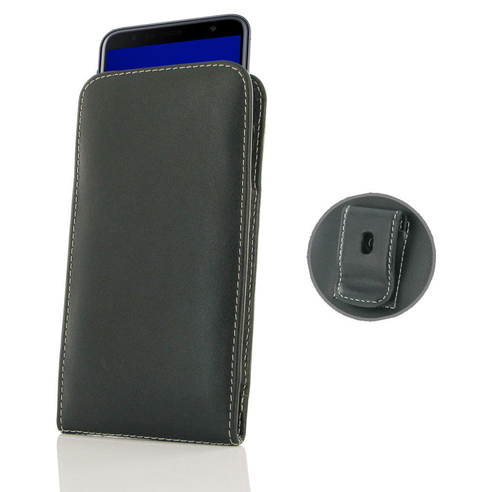 10% OFF + FREE SHIPPING, Buy the BEST PDair Handcrafted Premium Protective Carrying Samsung Galaxy J4+ | J4 Plus Pouch Case with Belt Clip. Exquisitely designed engineered for Samsung Galaxy J4+ | J4 Plus.