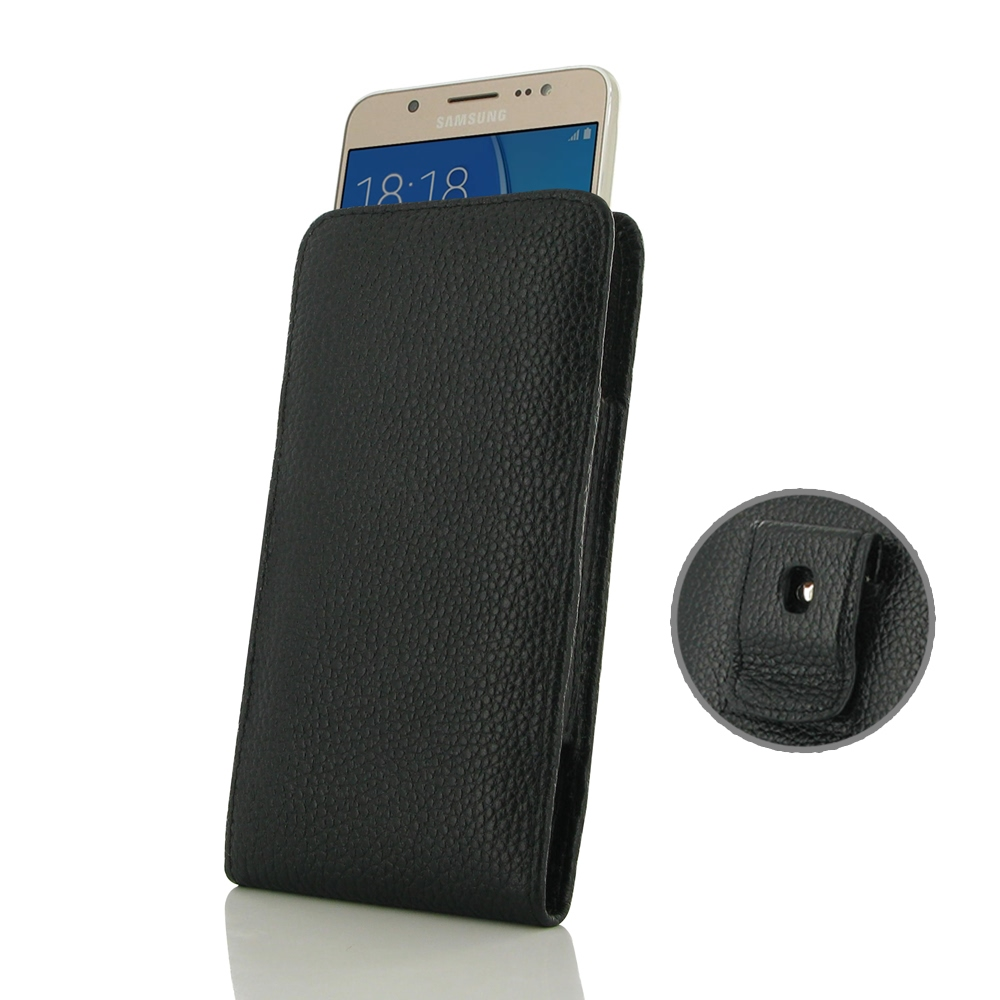 10% OFF + FREE SHIPPING, Buy Best PDair Handmade Protective Samsung Galaxy J5 2016 Pouch Case with Belt Clip (Black Stitching) online. You also can go to the customizer to create your own stylish leather case if looking for additional colors, patterns and