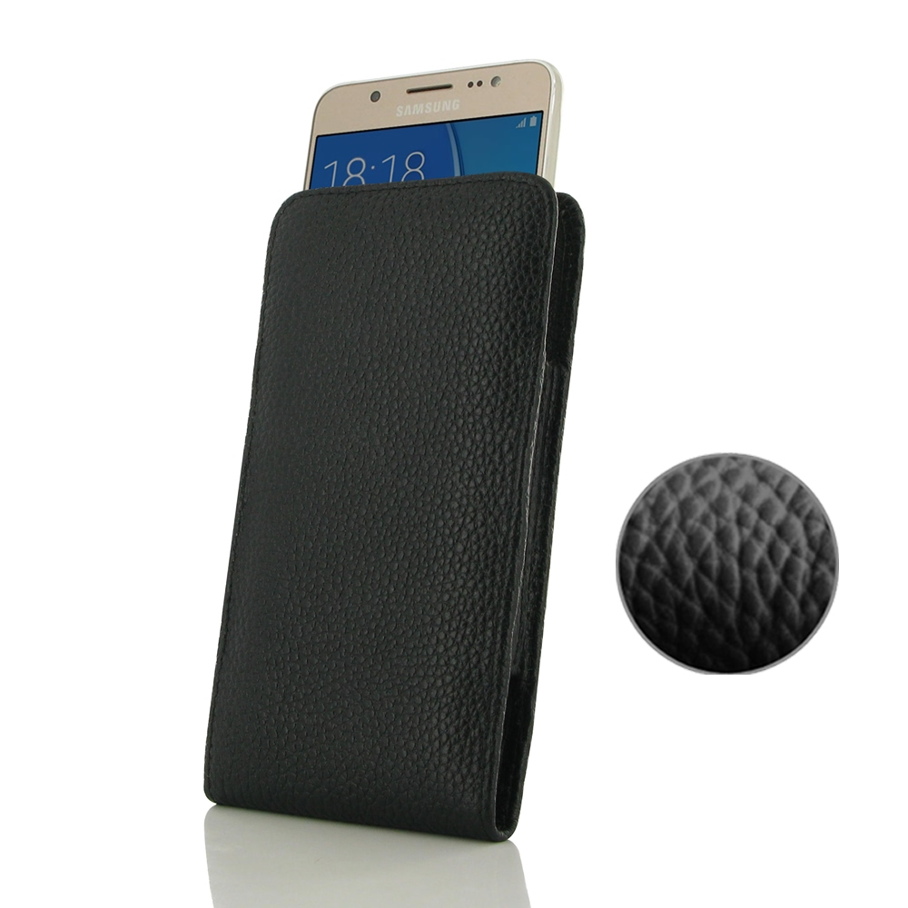 10% OFF + FREE SHIPPING, Buy PDair Handmade Protective Samsung Galaxy J5 2016 Genuine Leather Sleeve Pouch Case (Black Stitching) online You also can go to the customizer to create your own stylish leather case if looking for additional colors, patterns a