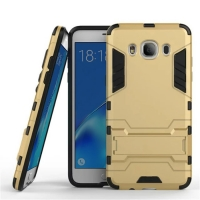 Samsung Galaxy J5 (2016) Tough Armor Protective Case (Gold)