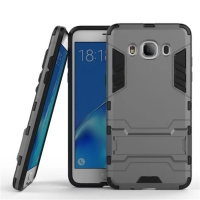 Samsung Galaxy J5 (2016) Tough Armor Protective Case (Grey)