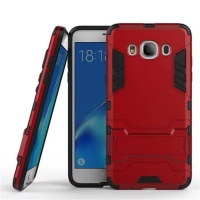 Samsung Galaxy J5 (2016) Tough Armor Protective Case (Red)