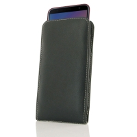 Leather Vertical Pouch Case for Samsung Galaxy J6+ | J6 Plus