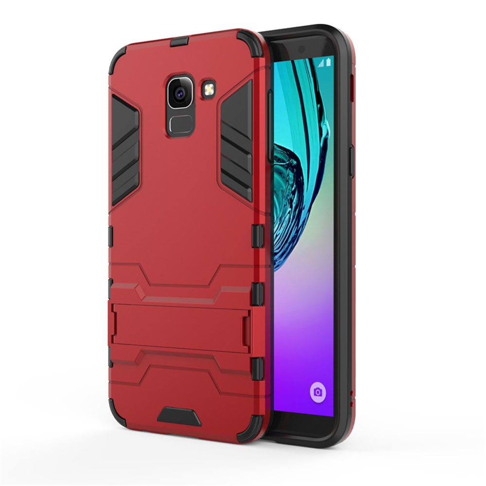 buy online bc070 cc178 Samsung Galaxy J6 Tough Armor Protective Case (Red)
