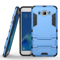 Samsung Galaxy J7 (2016) Tough Armor Protective Case (Blue)