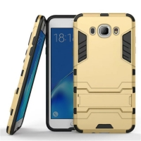 Samsung Galaxy J7 (2016) Tough Armor Protective Case (Gold)