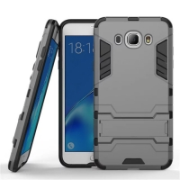 Samsung Galaxy J7 (2016) Tough Armor Protective Case (Grey)