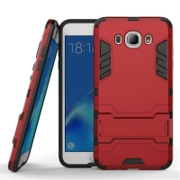 Samsung Galaxy J7 (2016) Tough Armor Protective Case (Red)