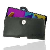 Leather Horizontal Pouch Case with Belt Clip for Samsung Galaxy M10s
