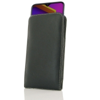 Leather Vertical Pouch Case for Samsung Galaxy M10s