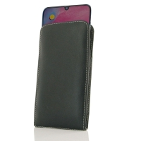 Leather Vertical Pouch Case for Samsung Galaxy M30