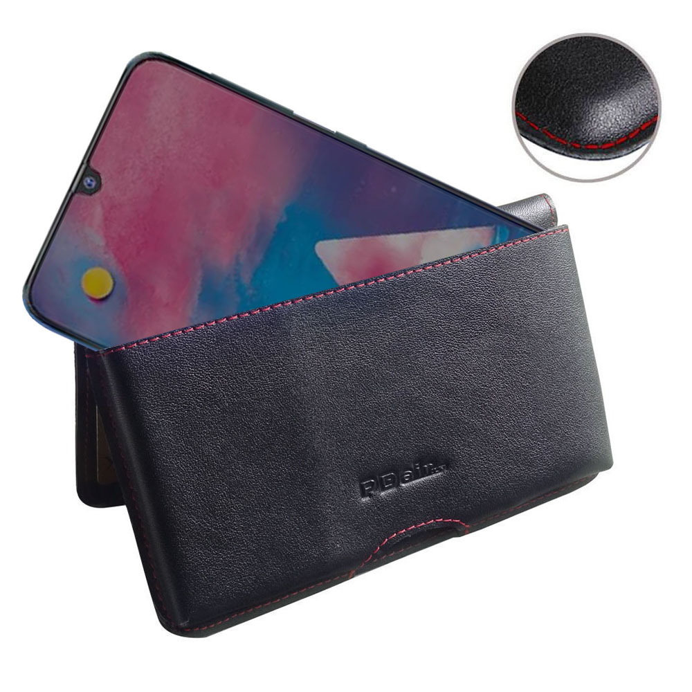 10% OFF + FREE SHIPPING, Buy the BEST PDair Handcrafted Premium Protective Carrying Samsung Galaxy M30 Leather Wallet Pouch Case (Red Stitch). Exquisitely designed engineered for Samsung Galaxy M30.