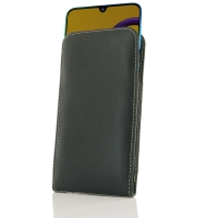 Leather Vertical Pouch Case for Samsung Galaxy M30s