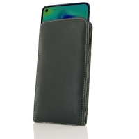 Leather Vertical Pouch Case for Samsung Galaxy M40