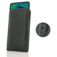 Leather Vertical Pouch Belt Clip Case for Samsung Galaxy M40