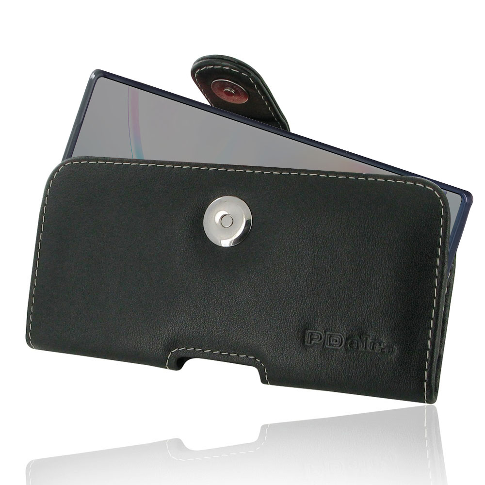 Samsung Galaxy Note 10 5G (in Slim Cover) Holster Case is specially custom designed for the device in slim skin case, cover or bumper. It allows you to carry your device on belt easily. You can remove your device anytime by the opening at the bottom. Trad