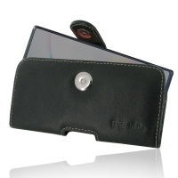 Leather Horizontal Pouch Case with Belt Clip for Samsung Galaxy Note 10 5G ( Compatible with 1.0 mm Slim Case / Cover on )