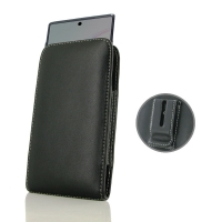 Leather Vertical Pouch Belt Clip Case for Samsung Galaxy Note 10 5G ( Compatible with 1.0 mm Slim Case / Cover on )