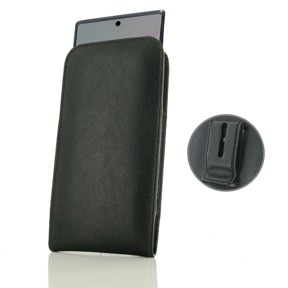 10% OFF + FREE SHIPPING, Buy the BEST PDair Handcrafted Premium Protective Carrying Samsung Galaxy Note 10 5G (in Slim Cover) Pouch Clip Case (Black Stitch). Exquisitely designed engineered for Samsung Galaxy Note 10 5G.