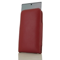 Leather Vertical Pouch Case for Samsung Galaxy Note 10 5G (Red)