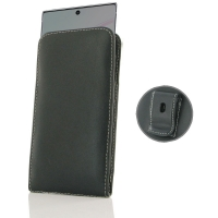 Leather Vertical Pouch Belt Clip Case for Samsung Galaxy Note 10 5G