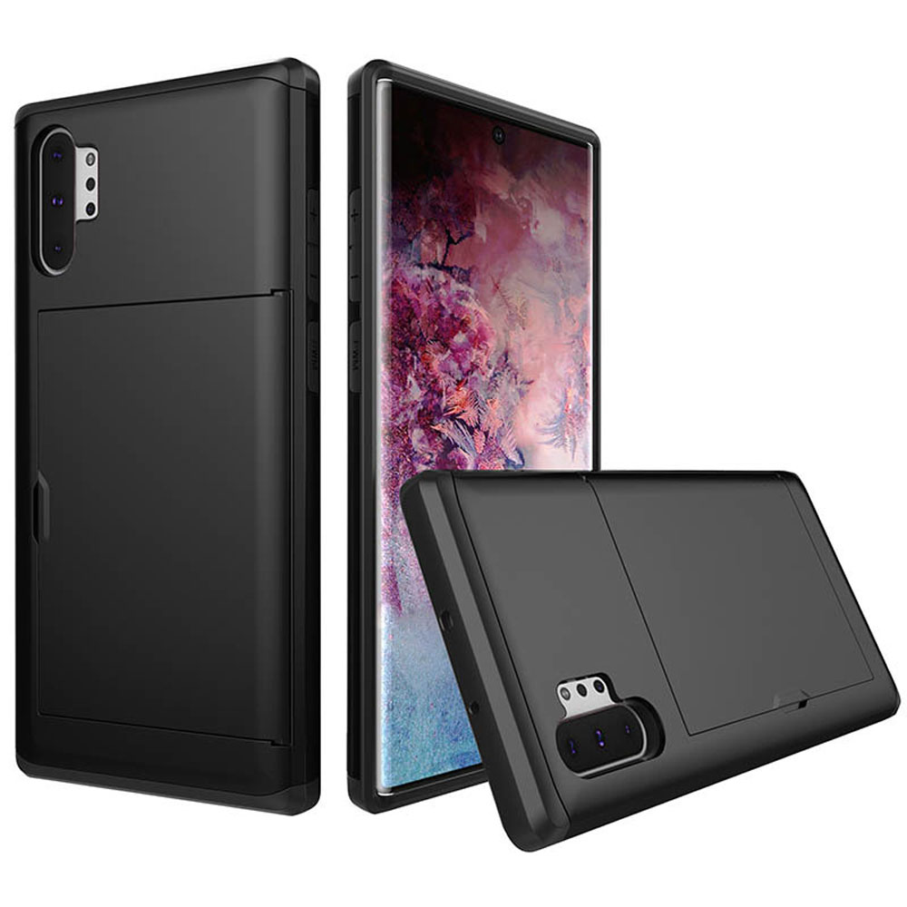 10% OFF + FREE SHIPPING, Buy the BEST PDair Premium Protective Carrying Samsung Galaxy Note 10 Plus 5G  Armor Protective Case with Card Slot (Black). Exquisitely designed engineered for Samsung Galaxy Note 10 Plus 5G .