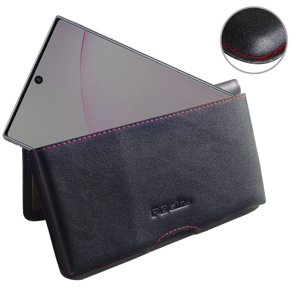 10% OFF + FREE SHIPPING, Buy the BEST PDair Handcrafted Premium Protective Carrying Samsung Galaxy Note 10 Plus 5G Leather Wallet Pouch Case (Red Stitch). Exquisitely designed engineered for Samsung Galaxy Note 10 Plus 5G.