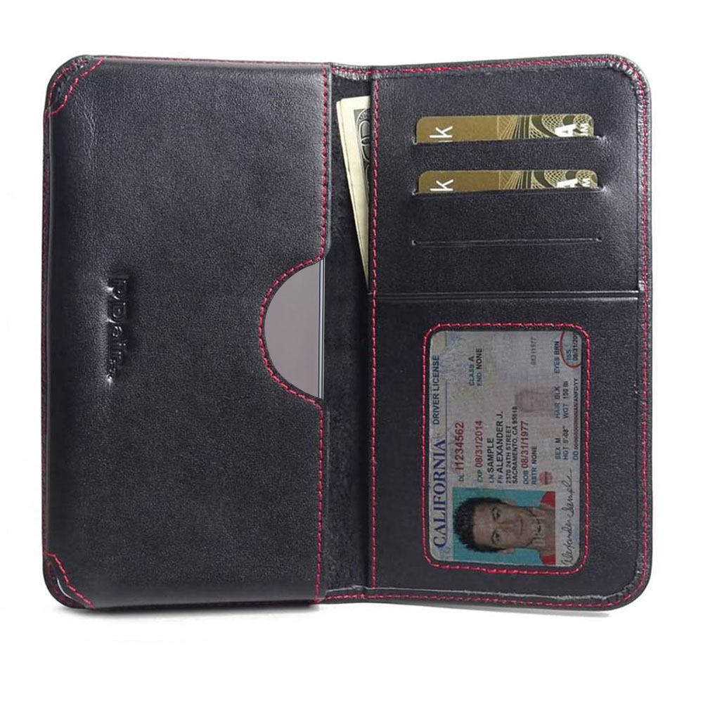 10% OFF + FREE SHIPPING, Buy the BEST PDair Handcrafted Premium Protective Carrying Samsung Galaxy Note 10 Plus 5G Leather Wallet Sleeve Case (Red Stitch). Exquisitely designed engineered for Samsung Galaxy Note 10 Plus 5G.