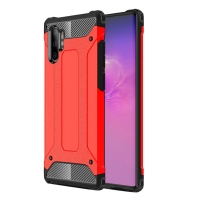 Hybrid Dual Layer Tough Armor Protective Case for Samsung Galaxy Note 10 Plus | Samsung Note 10+ (Red)