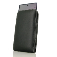 Leather Vertical Pouch Case for Samsung Galaxy Note 10+ | Samsung Galaxy Note 10 Plus ( Compatible with 1.0 mm Slim Case / Cover on )