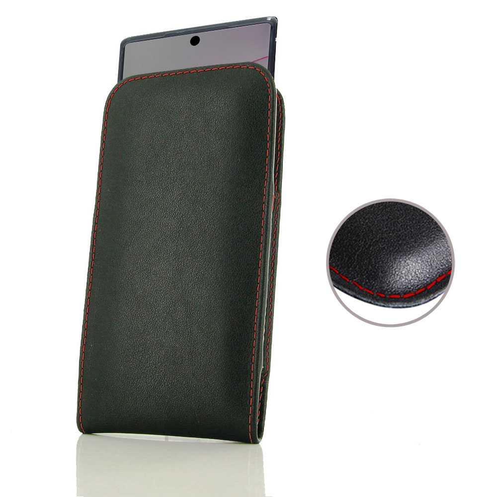 10% OFF + FREE SHIPPING, Buy the BEST PDair Handcrafted Premium Protective Carrying Samsung Galaxy Note 10 Plus (in Slim Cover) Pouch Case (Red Stitch). Exquisitely designed engineered for Samsung Galaxy Note 10 Plus.