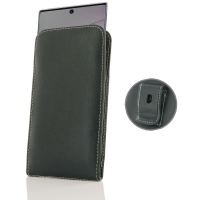 Leather Vertical Pouch Belt Clip Case for Samsung Galaxy Note 10 Plus | Samsung Galaxy Note 10+