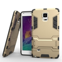 Samsung Galaxy Note 4 | Samsung Galaxy Note4 | SM-N910 Tough Armor Protective Case (Gold)