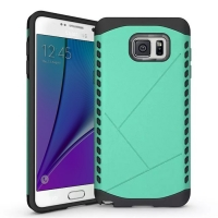 Hybrid Combo Aegis Armor Case Cover for Samsung Galaxy Note 5 | Samsung Galaxy Note5 (Green)