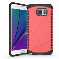 Hybrid Combo Aegis Armor Case Cover for Samsung Galaxy Note 5 | Samsung Galaxy Note5 (Pink)