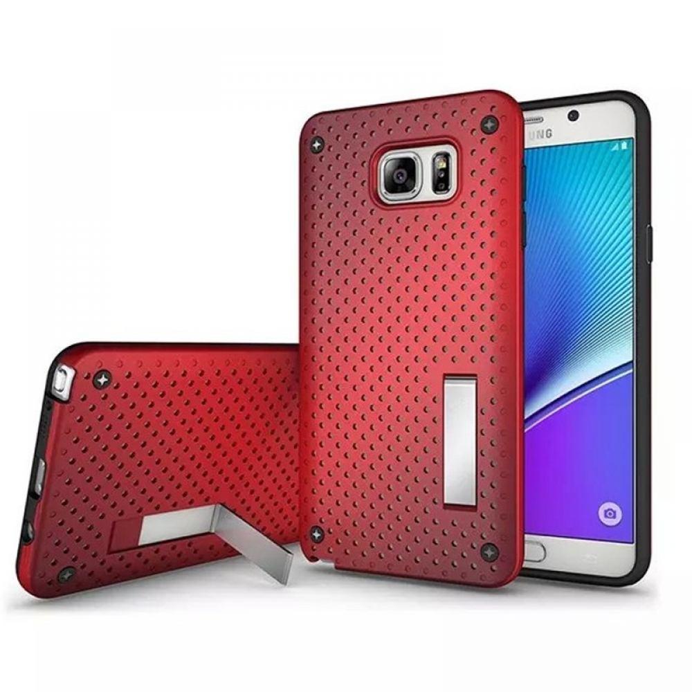 10% OFF + FREE SHIPPING, Buy Best PDair Premium Protective Samsung Galaxy Note 5 Hybrid Shockproof Bumper with Stand (Red) online. You also can go to the customizer to create your own stylish leather case if looking for additional colors, patterns and typ