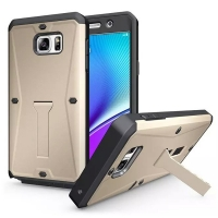 Tank Tough Armor Protective Case for Samsung Galaxy Note 5 | Samsung Galaxy Note5 (Gold)