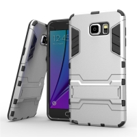 Samsung Galaxy Note 5 | Samsung Galaxy Note5 Tough Armor Protective Case (Silver)