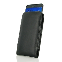 Samsung Galaxy Note 7 (in Slim Cover) Pouch Case PDair Premium Hadmade Genuine Leather Protective Case Sleeve Wallet