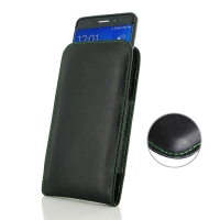 Buy Best PDair Handmade Protective Samsung Galaxy Note FE / Note 7 (in Slim Cover) Leather Pouch Case (Green Stitch) online. You also can go to the customizer to create your own stylish leather case if looking for additional colors, patterns and types.
